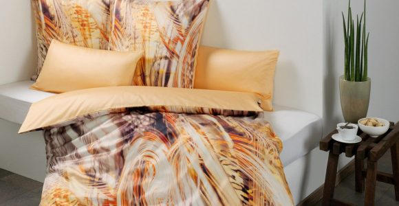 Estella Mako Satin Bettwsche Peripherie 155×200 80×80 Cm In throughout measurements 1129 X 1600
